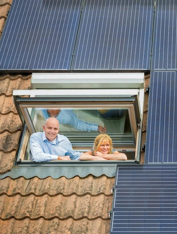 Stel voor huis met zonnepanelen | Vattenfall Energie