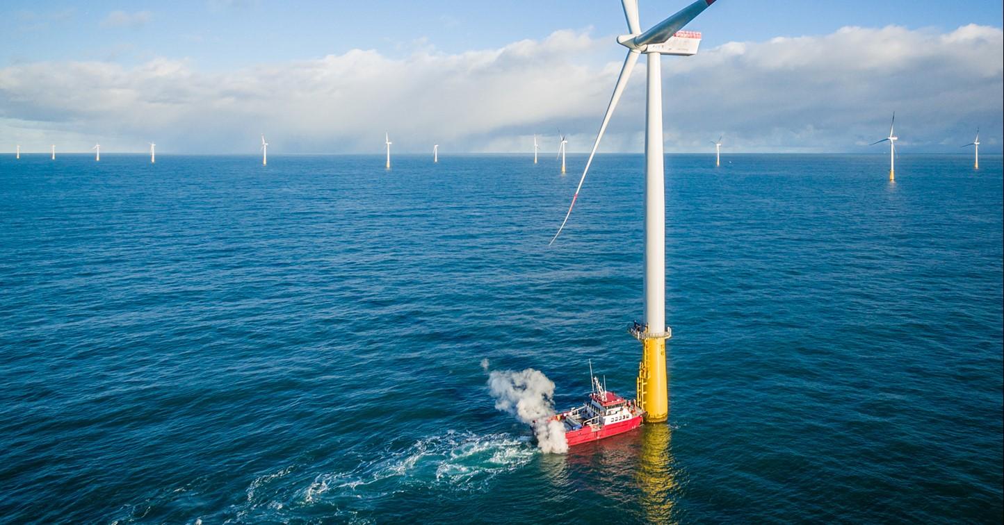 Windpark Dan Tysk   Vattenfall Energie